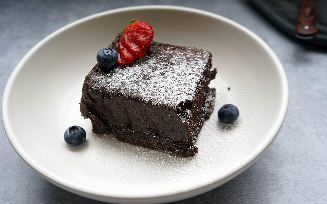 Brownie Con Maca Postre Riquisimo Con Un Toque Peruano